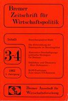 Bremer Zeitschrift für Wirtschaftspolitik Heft 3-4/ 1982