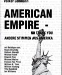 American Empire - No thank you. Andere Stimmen aus Amerika