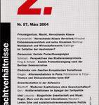 Z. - Zeitschrift Marxistische Erneuerung Nr. 57