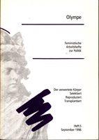 Olympe - Feministische Arbeitshefte zur Politik Heft 5 - September 1996