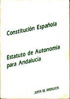 Constitución Espanola - Estatuto de Autonomía para Andalucía