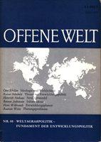 Weltagrarpolitik - Fundament der Entwicklungspolitik
