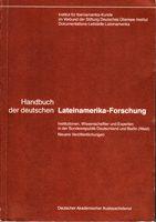 Handbuch der deutschen Lateinamerika-Forschung - Institutionen