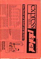 express - Zeitung für sozialistische Betriebs- und Gewerkschaftsarbeit/ plakat - Extrablatt zum 1. Mai 1975