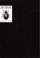 Am Erker - Zeitschrift für Literatur Nr. 25
