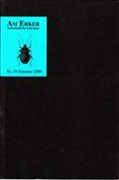 Am Erker - Zeitschrift für Literatur Nr. 39 - Sommer 2000