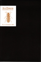 Am Erker - Zeitschrift für Literatur Nr. 41 - Sommer 2001