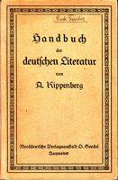 Handbuch der deutschen Literatur (Begleitband zu: Deutsches Lesebuch für Lyzeen und höhere Mädchenschulen)