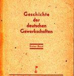 Geschichte der deutschen Gewerkschaften - Erster Band
