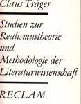 Studien zur Realismustheorie und Methodologie der Literaturwissenschaft