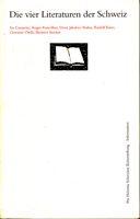 Die vier Literaturen der Schweiz
