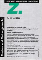 Z. - Zeitschrift Marxistische Erneuerung Nr. 86