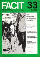 Facit - Beiträge zur marxistischen Theorie und Politik 33