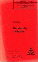 Betriebsnahe Tarifpolitik