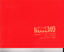 NODEMO - Bilderbuch zum Protesttag gegen das WEF am 22.01.05 in Bern