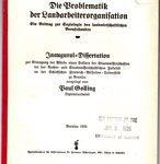 Die Problematik der Landarbeiterorganisation - Ein Beitrag zur Soziologie des landwirtschaftlichen Berufsstandes